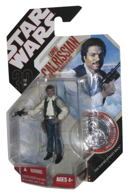 Star Wars 30th Lando Calrissian In Smuggler Disguise Figure w/ Silver Coin