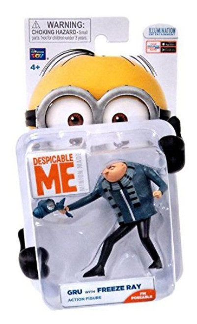 Despicable Me Minions Gru With Freeze Ray Thinkway Toys Action Figure