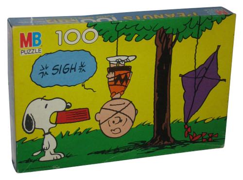 Peanuts Snoopy & Charlie Brown 100pc Vintage (1958) Milton Bradley Puzzle