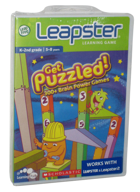 LeapFrog Leapster Learning Scholastic Get Puzzled Game