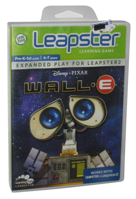 Disney Pixar Wall-E LeapFrog Leapster Learning Path Game