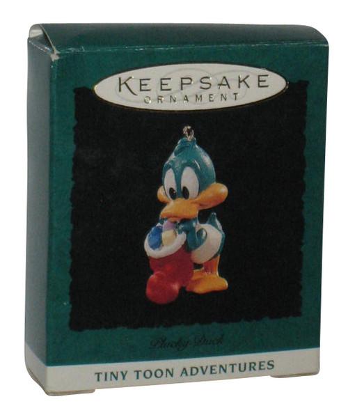 Tiny Toon Adventures Plucky Duck (1994) Miniature Hallmark Keepsake Ornament