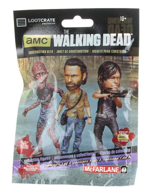 Walking Dead Blind McFarlane Toys Figure Pack - (Loot Crate February 2016 Exclusive)
