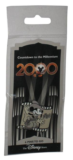 Disney Two Gun Mickey Mouse 1934 Countdown To The Millenium 2000 Pin #7