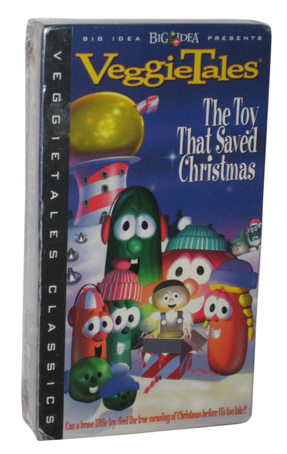 VeggieTales The Toy That Saved Christmas (1996) VHS Tape