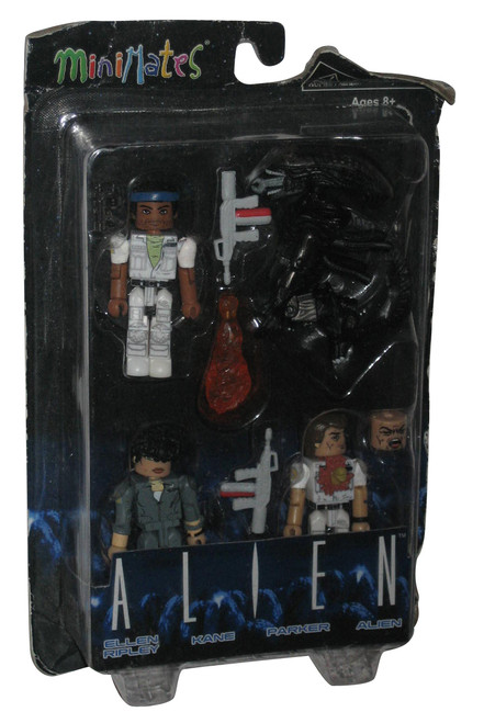 Alien Movie Ellen Ripley Kane Parker Alien Minimates Figure Set
