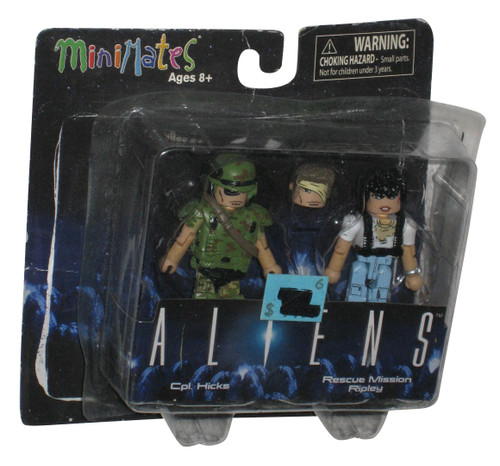 Aliens Movie Cpl. Hicks & Rescue Mission Ripley Minimates Figure Set