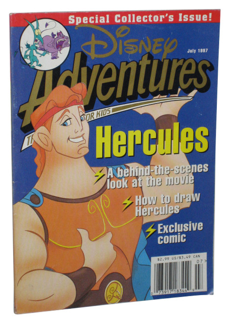 Disney Adventures July 1997 Hercules Special Collector's Issue Book