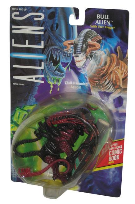 Aliens Bull Alien Kenner Vintage (1992) Figure w/ Comic Book