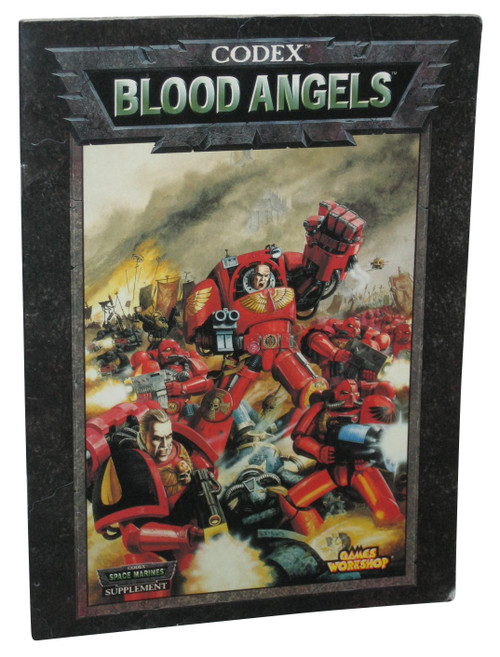 Codex Blood Angels Games Workshop Supplement Paperback Book