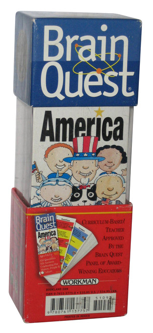 Brain Quest America History People & Culture Questions & Answers Cards