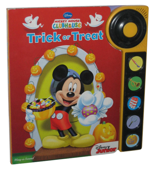 Disney Mickey Mouse Clubhouse Trick or Treat Play A Sound Book