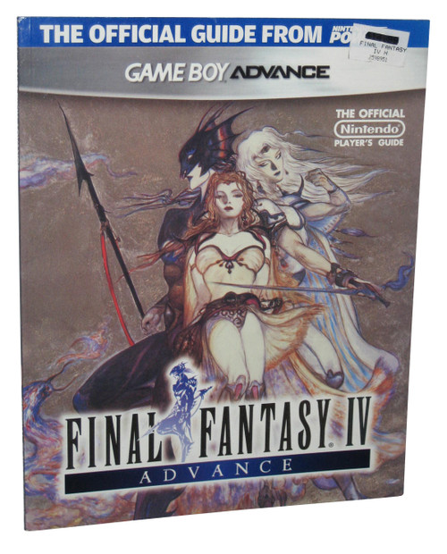 Final Fantasy IV Nintendo Gameboy Advance Player's Strategy Guide Book