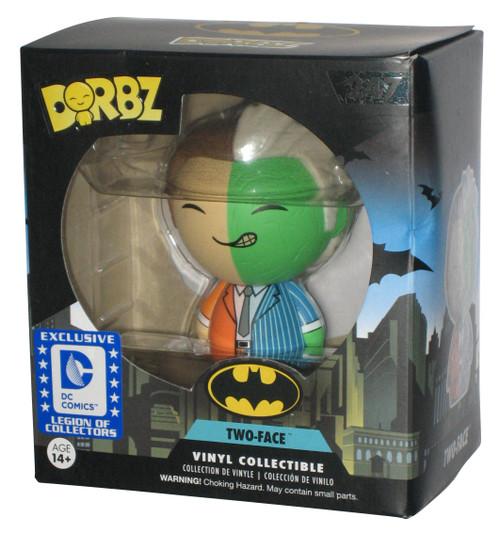 DC Batman Legion of Collectors Exclusive Two-Face Dorbz Vinyl Figure 247