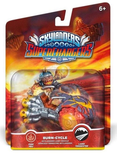 Skylanders Superchargers Burn Cycle Video Game Toy Figure