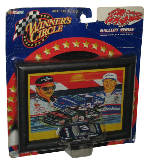 Nascar Winners Circle Sam Bass Gallery Series Print w/ Dale Earnhardt Jr Toy Car