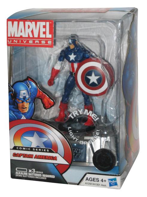Marvel Universe Captain America Light Up Base Comic Series Figure