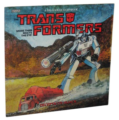 Transformers Decepticon Hijack Paperback Kids Children Book