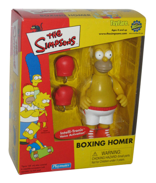 Simpsons Boxing Homer Toyfare Playmates Exclusive Action Figure