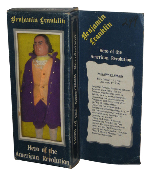 Benjamin Franklin Hero of The American Revolution Figure