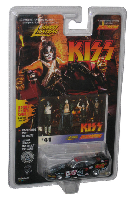 KISS Peter Criss Johnny Lightning Die Cast Car + Photo Card