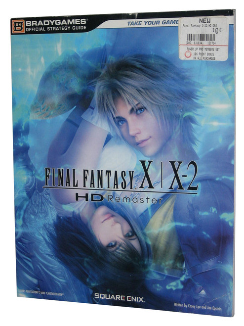 Final Fantasy X-X2 HD Remaster Official Strategy Guide Book