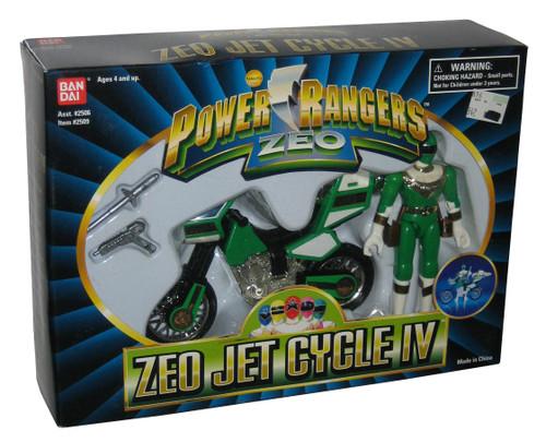 Power Ranger Zeo Jet Cycle III (1996) Bandai Toy Figure Set
