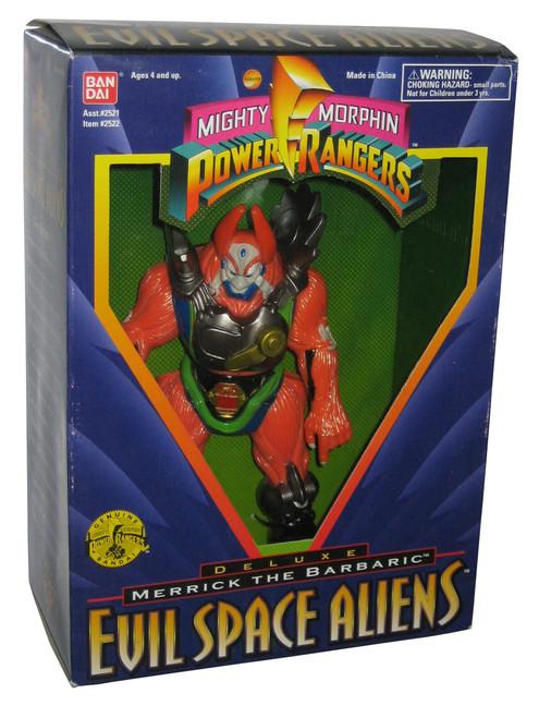 Power Ranger Deluxe Evil Space Alien (1995) Merrick The Barbaric Figure