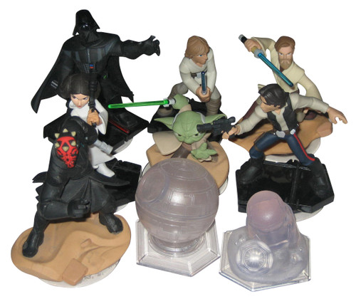 Disney Infinity 3.0 Star Wars Figure Toy Set - (10pc Lot)