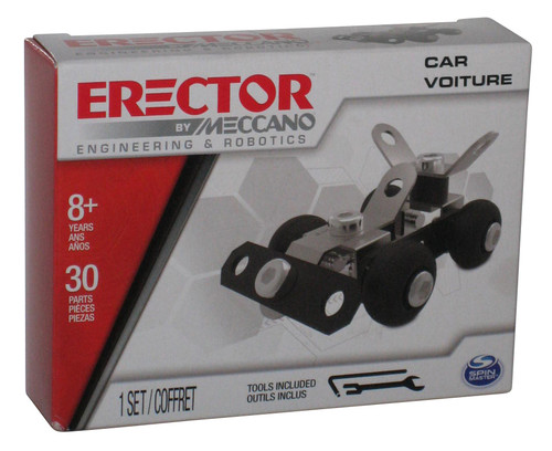 Erector by Meccano Car Voiture Engineering & Robotics Spin Master Construction Kit