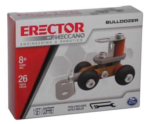 Erector by Meccano Bulldozer Engineering & Robotics Spin Master Car Construction Kit