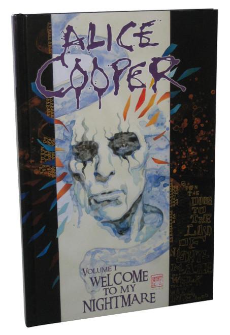 Alice Cooper Volume 1 Welcome To My Nightmare Hardcover Book