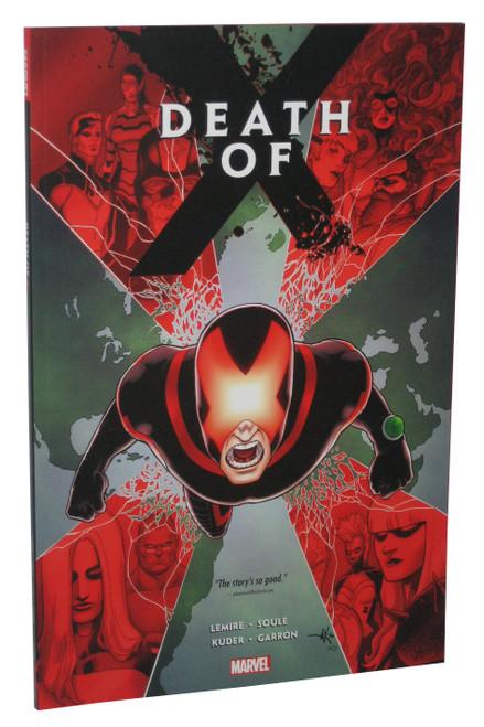 Marvel Comics Death of X Paperback Book - (Charles Soule)