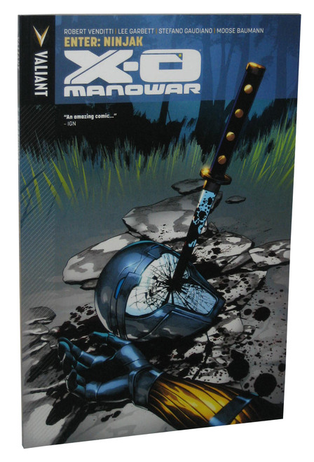 X-O Manowar Volume 2 Enter Ninjak Valiant Paperback Book