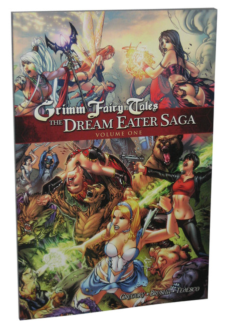 Grimm Fairy Tales The Dream Eater Saga Volume 1 Paperback Book