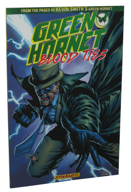 DC Comics The Green Hornet Blood Ties Paperback Book - (Ande Parks)