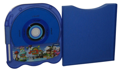 Vtech V. Flash Wacky Race On Jumpin Bean Island Game Disc