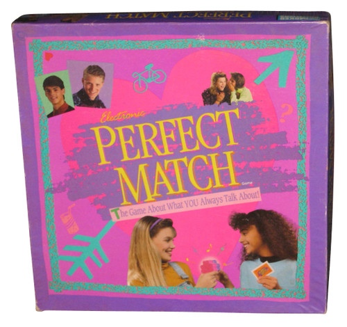 Electronic Perfect Match What You Always Talk About Game - (Parker Brothers)