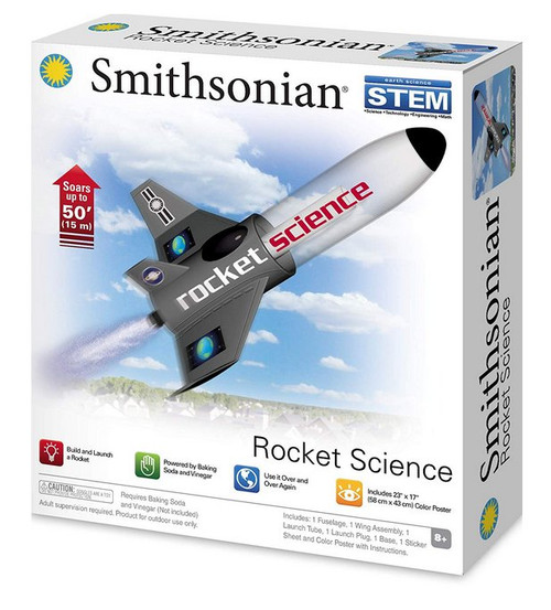 Smithsonian Science Activities Rocket Toy Science Kit