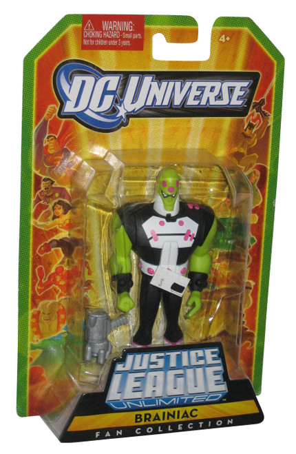 DC Universe Justice League Unlimited Fan Collection Brainiac Figure