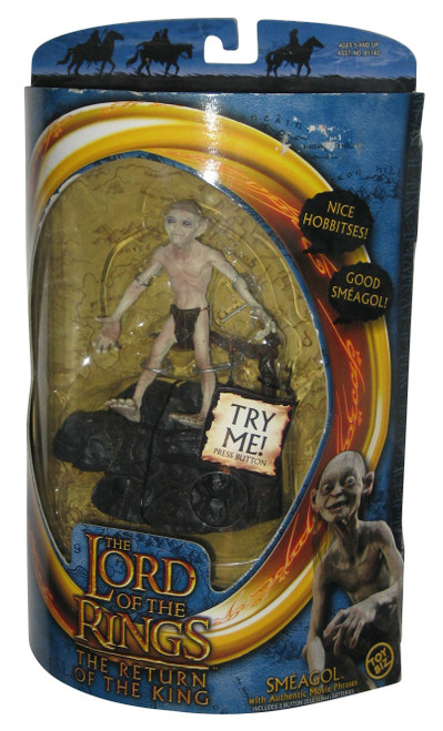 Lord of The Rings Return of The King Smeagol Toy Biz Talking Figure