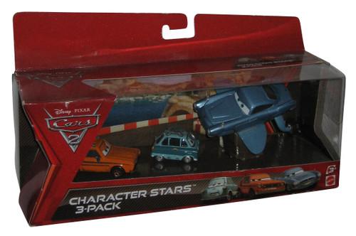 Disney Cars Character Stars 3-Pack Finn Submarine, Professor Z and Grem Set