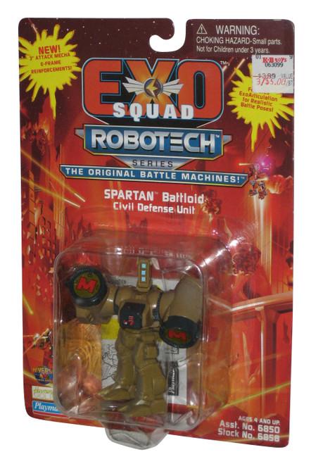 Robotech Spartan Battloid Civil Defense Unit (1994) Playmates 3-Inch Figure