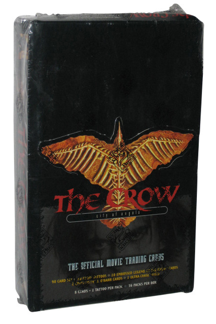 The Crow City of Angels Official Movie Trading Cards Box - (36 Packs)