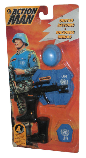 Action Man United Nations Toy Figure (1994) Hasbro Accessory Set
