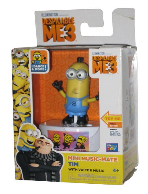 Despicable Me Music-Mate Dance & Move Minion Tim Toy Figure