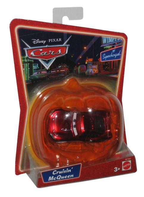Disney Cars Pumpkin Halloween Cruisin Lightning McQueen Toy Car