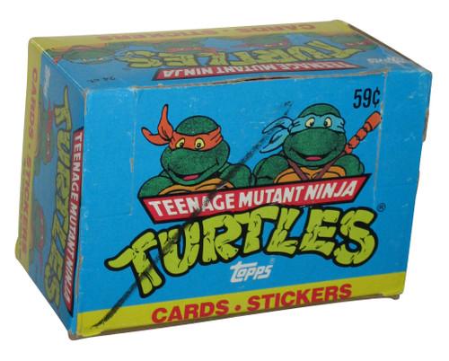 Teenage Mutant Ninja Turtles Cartoon (1990) Topps Trading Cards Box - (24 Packs)