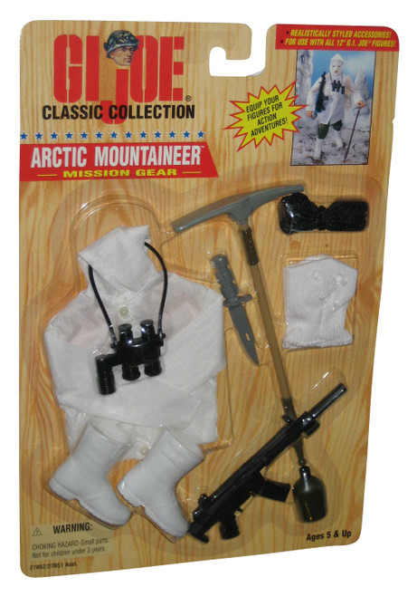 GI Joe Classic Collection Arctic Mountaineer Mission Gear (1996) 12 Inch Figure Accessory Set