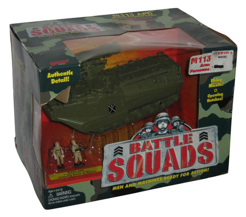 Battle Squads M113 APC Armored Personnel Carrier Galoob Toy Tank 74254